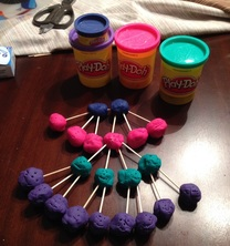 Play Doh Pedigree Chart