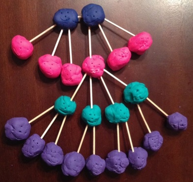 Play Doh Pedigree Chart // GrowingLittleLeaves.com