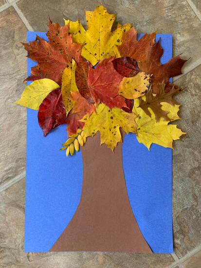 Fall Family Tree // GrowingLittleLeaves.com