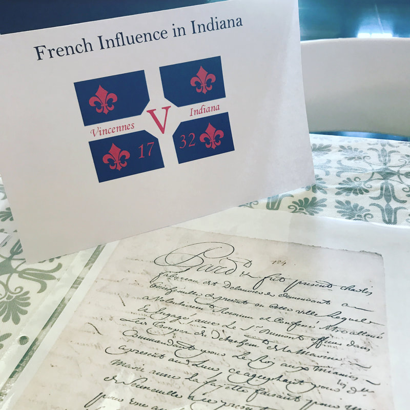 Indiana's French Heritage // GrowingLittleLeaves.com