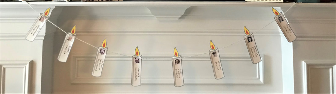 Remembrance Candle Bunting // GrowingLittleLeaves.com