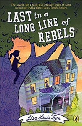 Book Review: Last in a Long Line of Rebels by Lisa Lewis Tyre // GrowingLittleLeaves.com