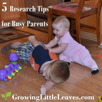 5 Family History Research Tips for Busy Parents // GrowingLittleLeaves.com
