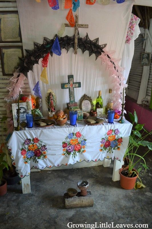 Honoring Ancestors on the Day of the Dead // GrowingLittleLeaves.com