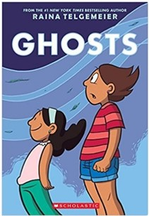Book Review: Ghosts by Raina Telgemeier // GrowingLittleLeaves.com