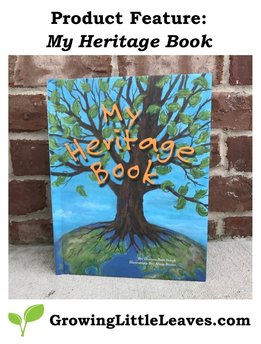 Product Feature: My Heritage Book // GrowingLittleLeaves.com