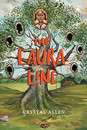 Book Review: The Laura Line by Crystal Allen // GrowingLittleLeaves.com