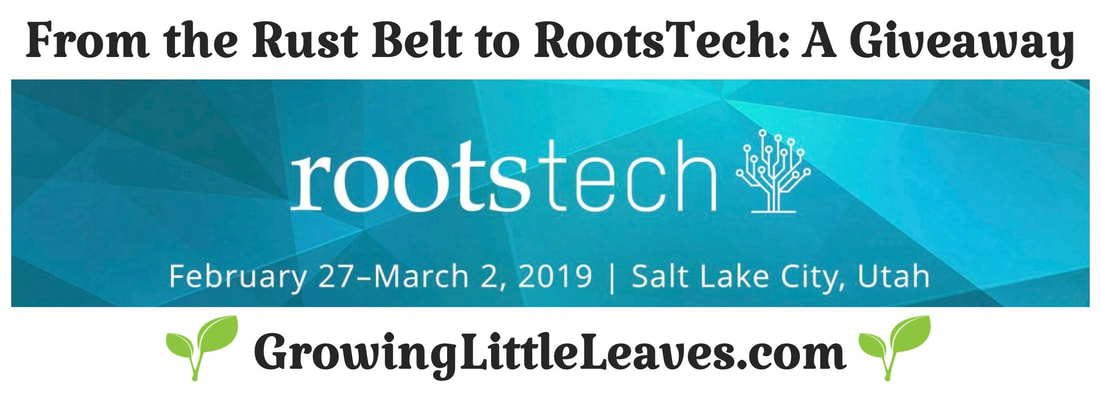 From The Rust Belt to RootsTech: A Giveway // GrowingLittlLeaves.com